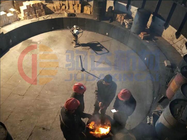 高碳锰铁矿热炉