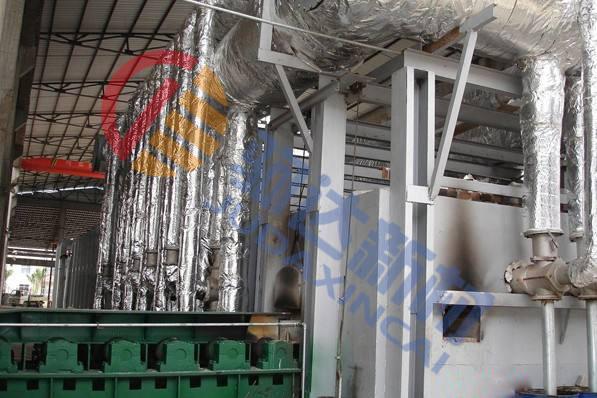 轧钢加热炉水冷管包扎块的损坏及其解决措施
