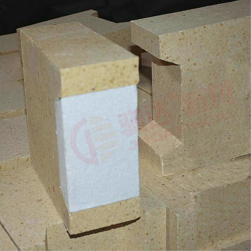 高铝凹槽复合砖